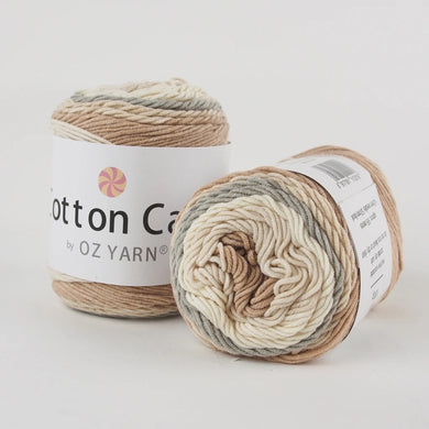 Oz Yarn Cotton Cake - Oatmeal - 26