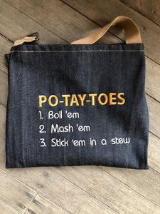 Pixie Winks Po-tay-toes Apron