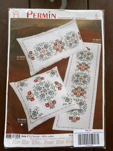 Permin Scandinavian art needlework - Timeless Cross Stitch Kit
