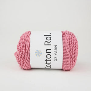 Oz Yarn Cotton Roll - Dusty Rose - 06