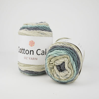 Oz Yarn Cotton Cake - Stormy Skies - 39