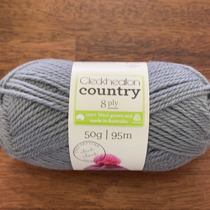 Cleckheaton Country 8ply - Fog 2363