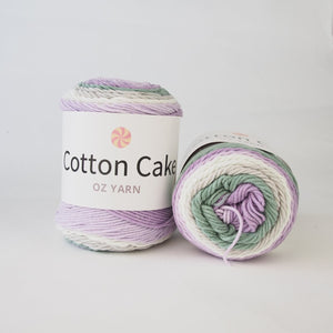Oz Yarn Cotton Cake - Amethyst Teal - 34