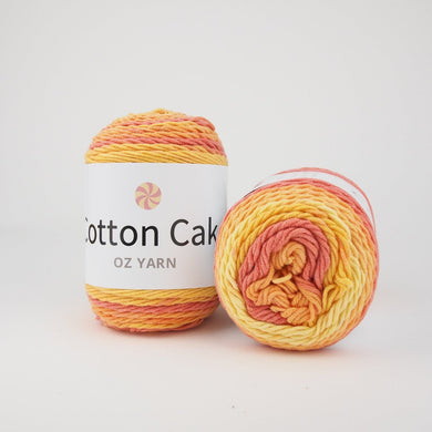 Oz Yarn Cotton Cake - Sunset - 36