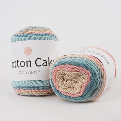Oz Yarn Cotton Cake - Coral Reef - 25