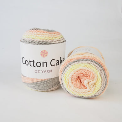 Oz Yarn Cotton Cake - Sherbet - 33