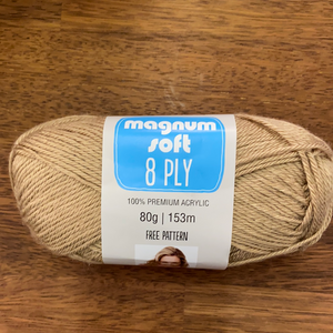 Panda Magnum Soft 8ply - Natural 4613