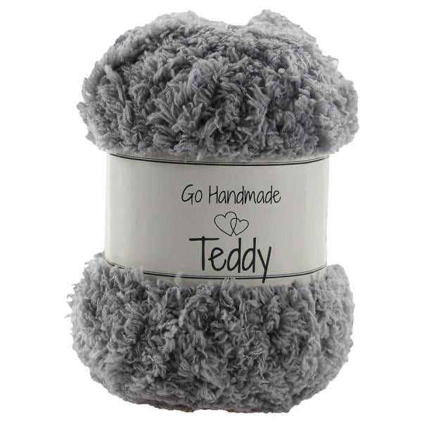 Go Handmade - Teddy - Light Grey 17347