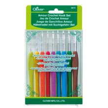 Load image into Gallery viewer, Clover Armour Crochet Hook Gift Set