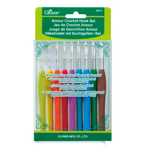 Clover Armour Crochet Hook Gift Set