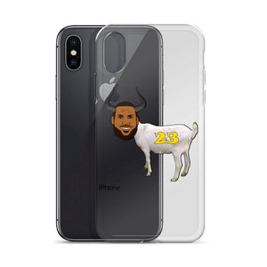 """LeGOAT"" iPhone Case"