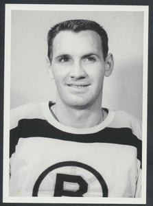 Original Dick Meissner -Boston Bruins Hockey Press Photo 1960  Used for 1961-62 Topps Card!  Vintage NHL Hockey Pic  News Archives
