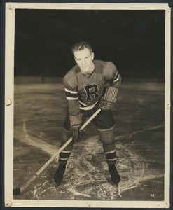 Rene Trudell -New York Rovers  Vintage Press Photo 1945-46  New York Rangers