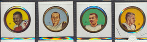 Lot of 4 Vintage 1963 CFL Coins -Ottawa  Nalley's, Humpty Dumpty  White, Faloney, Kuntz, Zuger