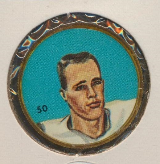 #50 Garney Henley -Star Player  1963 CFL Coin -Hamilton  Nalley's, Hunter's  CFL Football