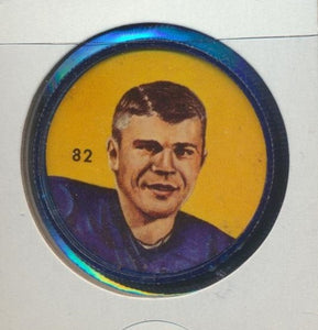 #82 Ken Ploen -Star Player  1963 CFL Coin -Winnipeg  Nalley's  CFL Football