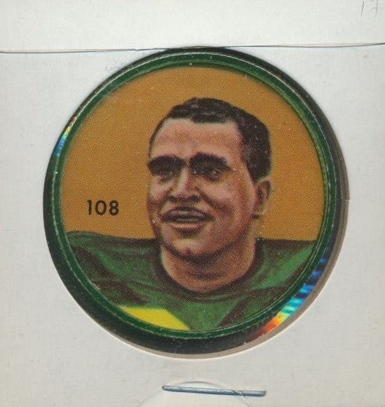 #108 Johnny Bright -Star Player  1963 CFL Coin -Edmonton  Nalley's  CFL Football