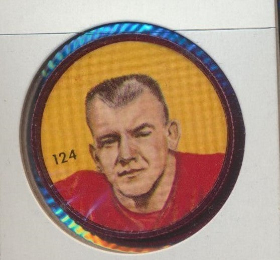 #124 Wayne Harris -Star Player  1963 CFL Coin -Calgary  Nalley's  CFL Football