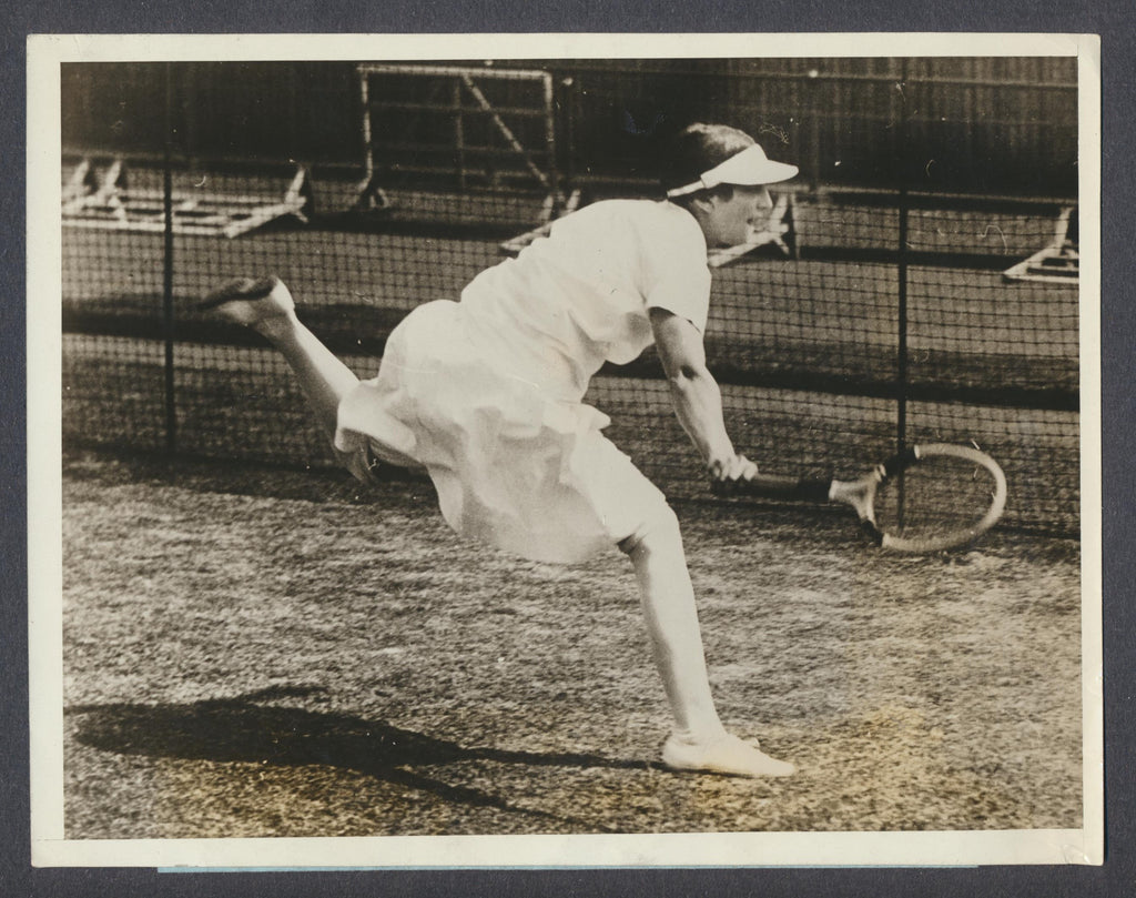 Original Helen Wills Press Photo - 1927 London, England American Tennis Champ