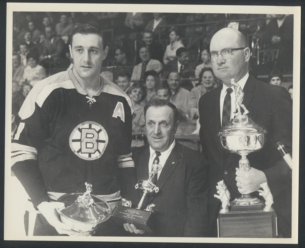 Original Vintage Phil Esposito Boston Bruins 8x10 Press Photo Vintage NHL Hockey
