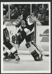 Kelly Hrudey L.A. Kings 1989 NHL Hockey Press Photo