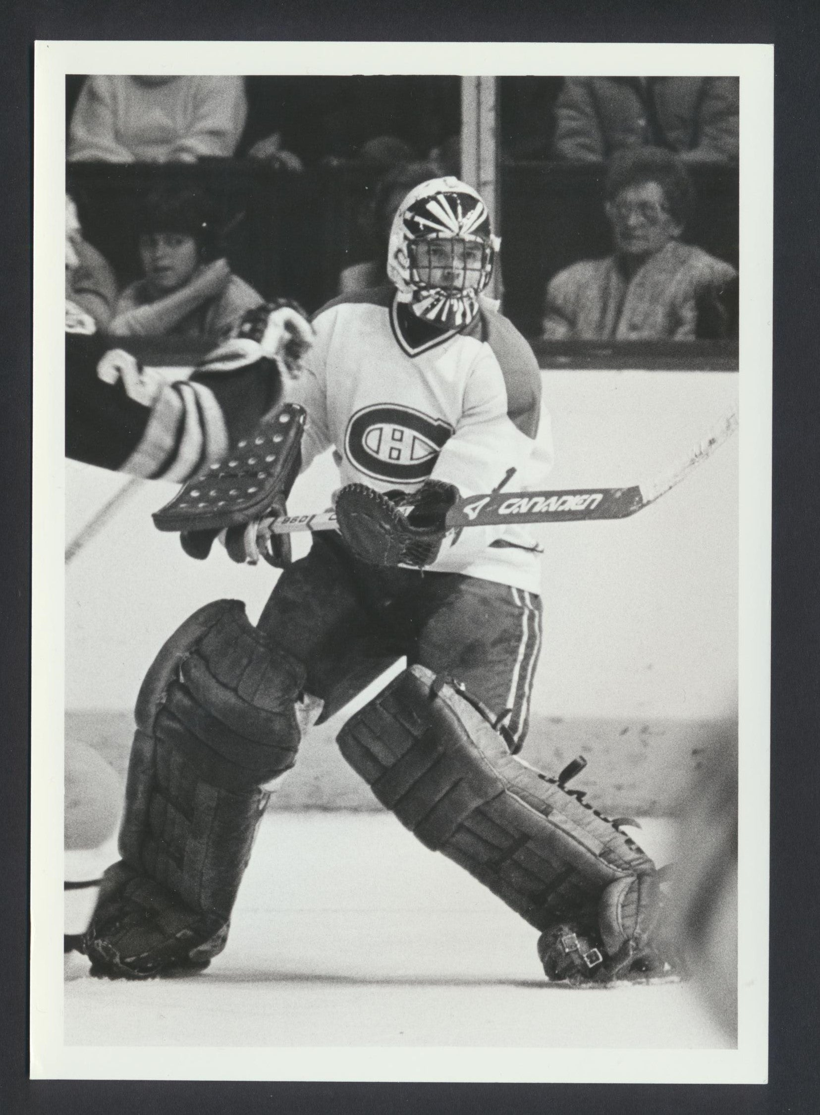 Rick Womsley Montreal Canadiens 1983 NHL Hockey Press Photo -Sporting News