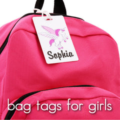 Bag Tags for Girls