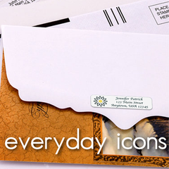 Everyday Icons Address Labels
