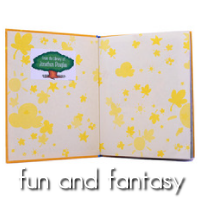Kids Personalized Book Labels - Fun and Fantasy