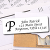 Initial Only Address Labels