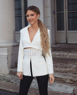 KAÏNA CORSET TWO PIECES BLAZER