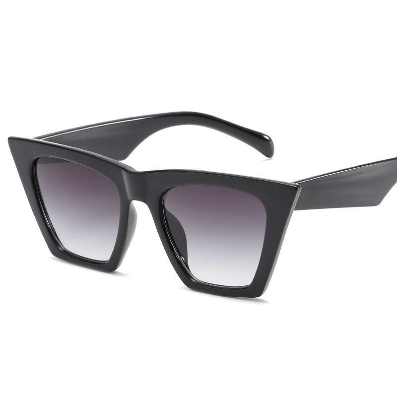EMPIRE BLACK CAT EYE SUNGLASSES J039