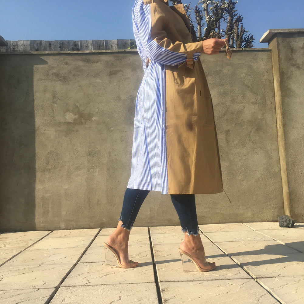 MIRA HALF DESIGN TRENCH COAT