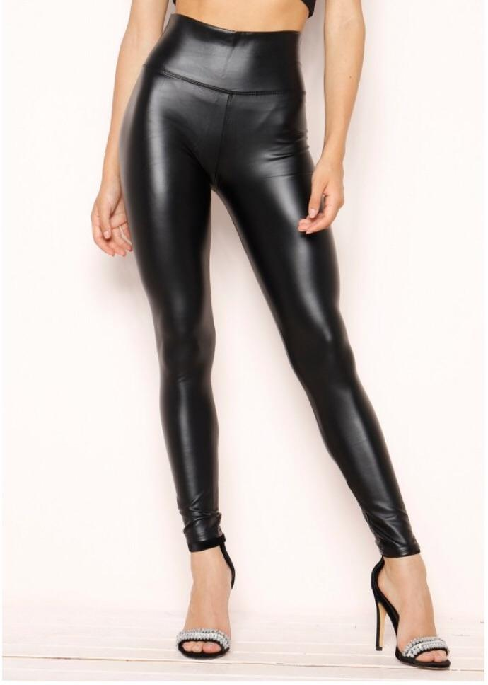 ERIKA BLACK HIGH WAISTED LEGGINGS L1