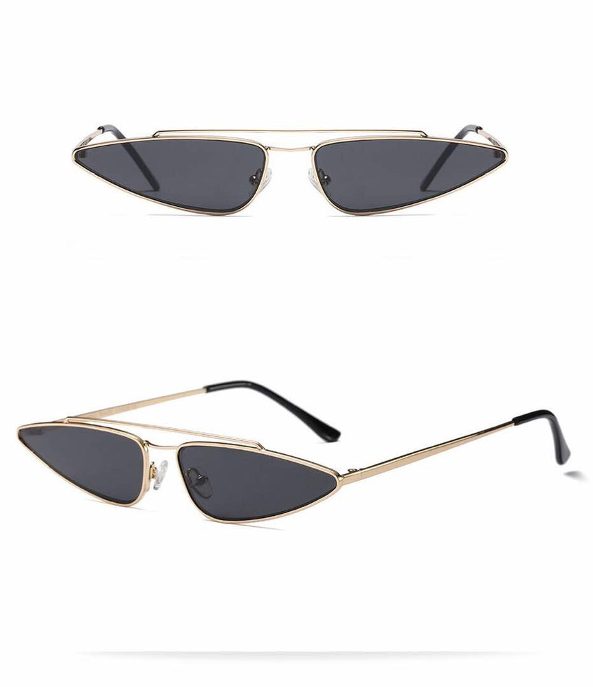 MAÏTEE BLACK CAT EYE SUNGLASSES