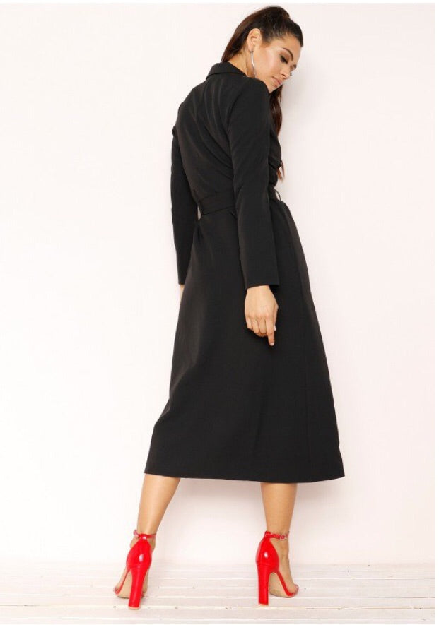 KIKI TRENCH COAT T1 BLACK