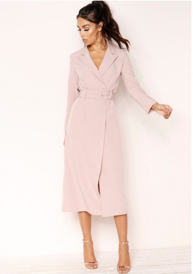 KIKI TRENCH COAT T1 PINK
