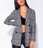 LINDA DOUBLE BREASTED BLAZER B2