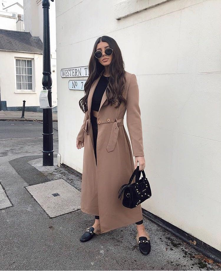 KIKI TRENCH COAT T1 CAMEL
