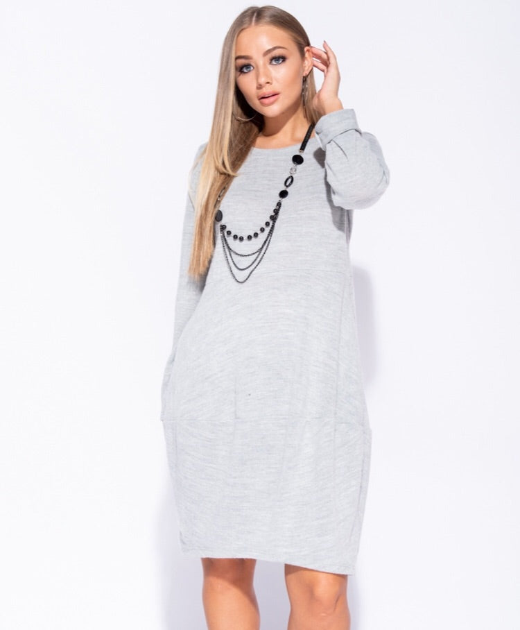 LISA KNIT JUMPER DRESS J5