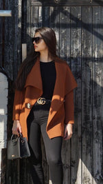 AMAYA BROWN COAT