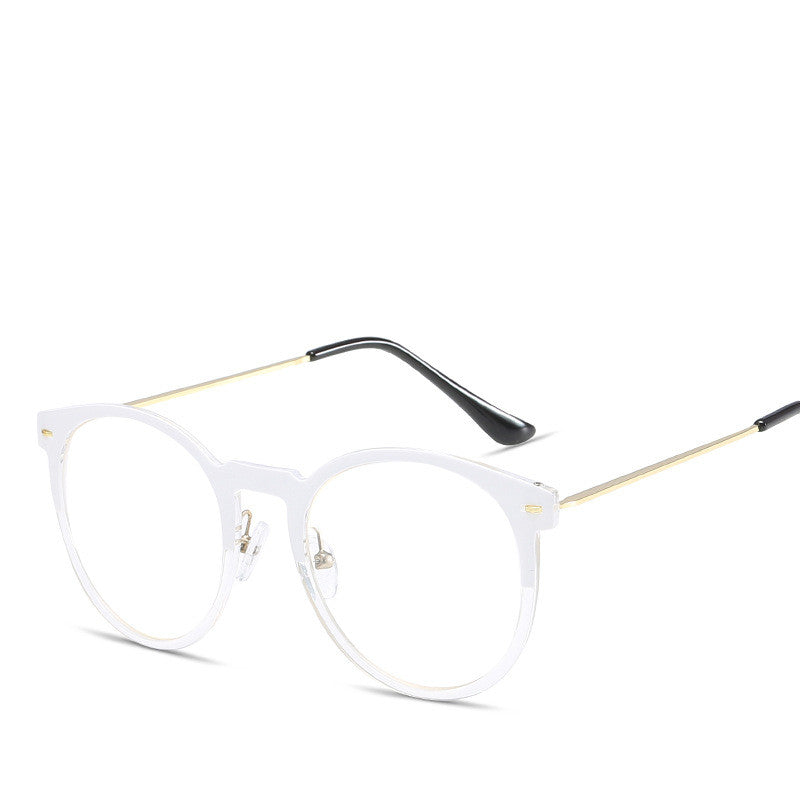 CLEAR OVERSIZE SHADES X009
