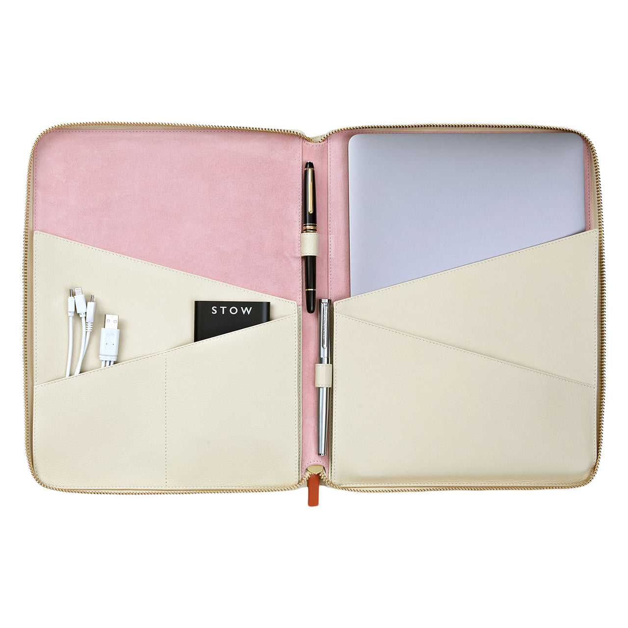 The Director Folio Leather Tech Case- Personalized