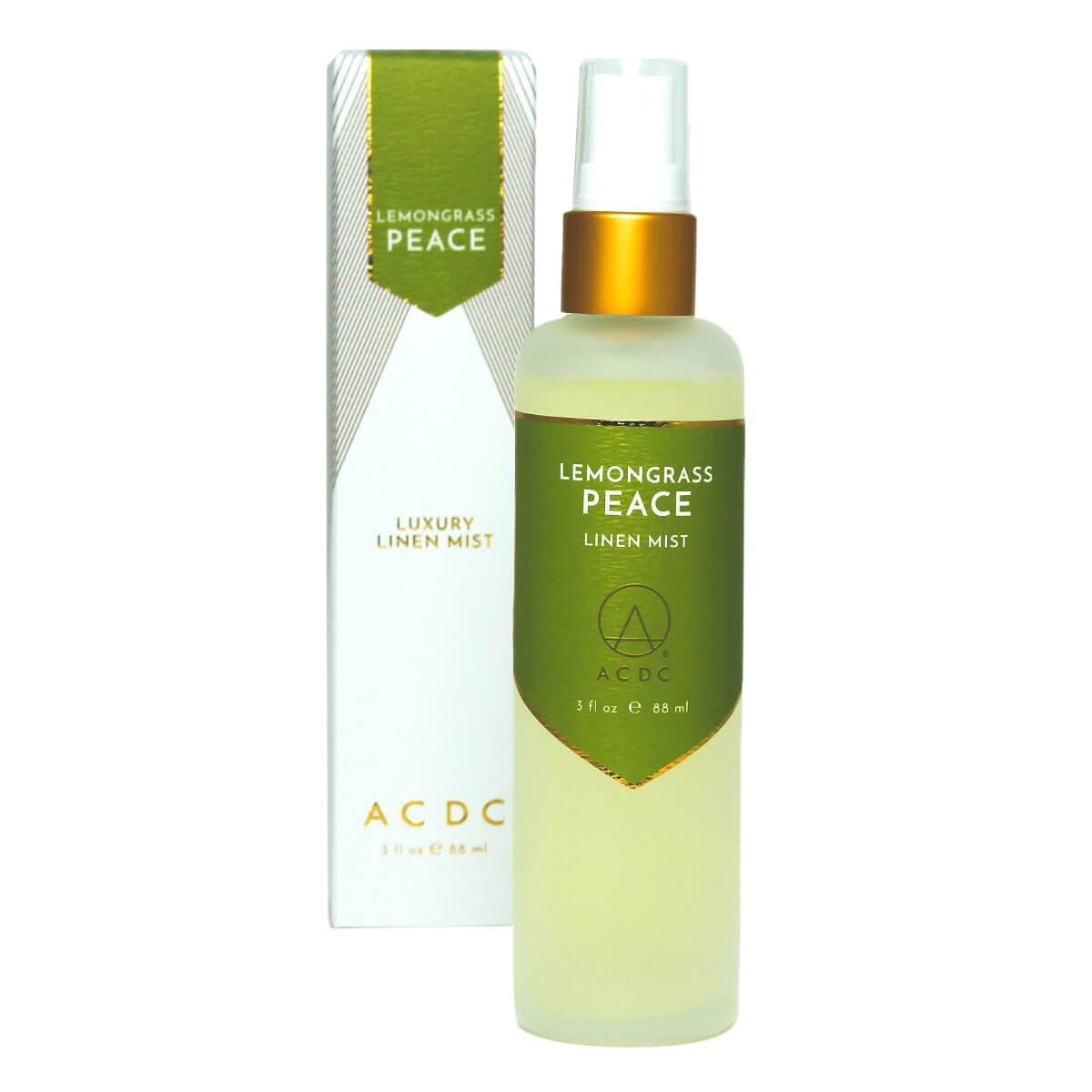 ACDC Candle Co Candles & Diffusers Lemongrass Peace Luxury Linen Mist
