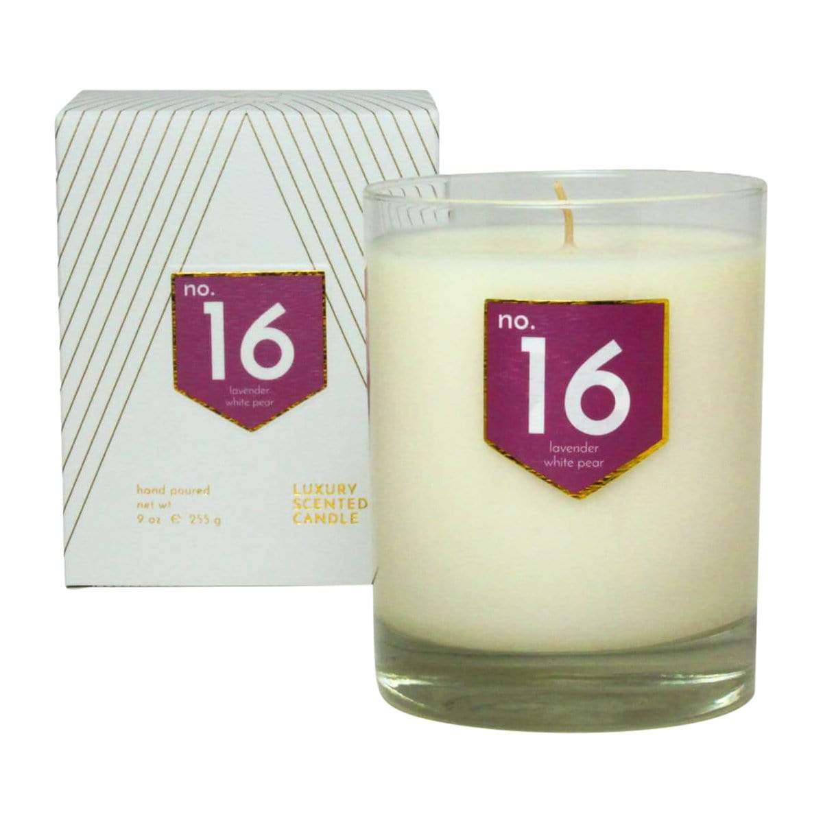 ACDC Candle Co Candles & Diffusers No. 16 Lavender White Pear Scented Soy Candle