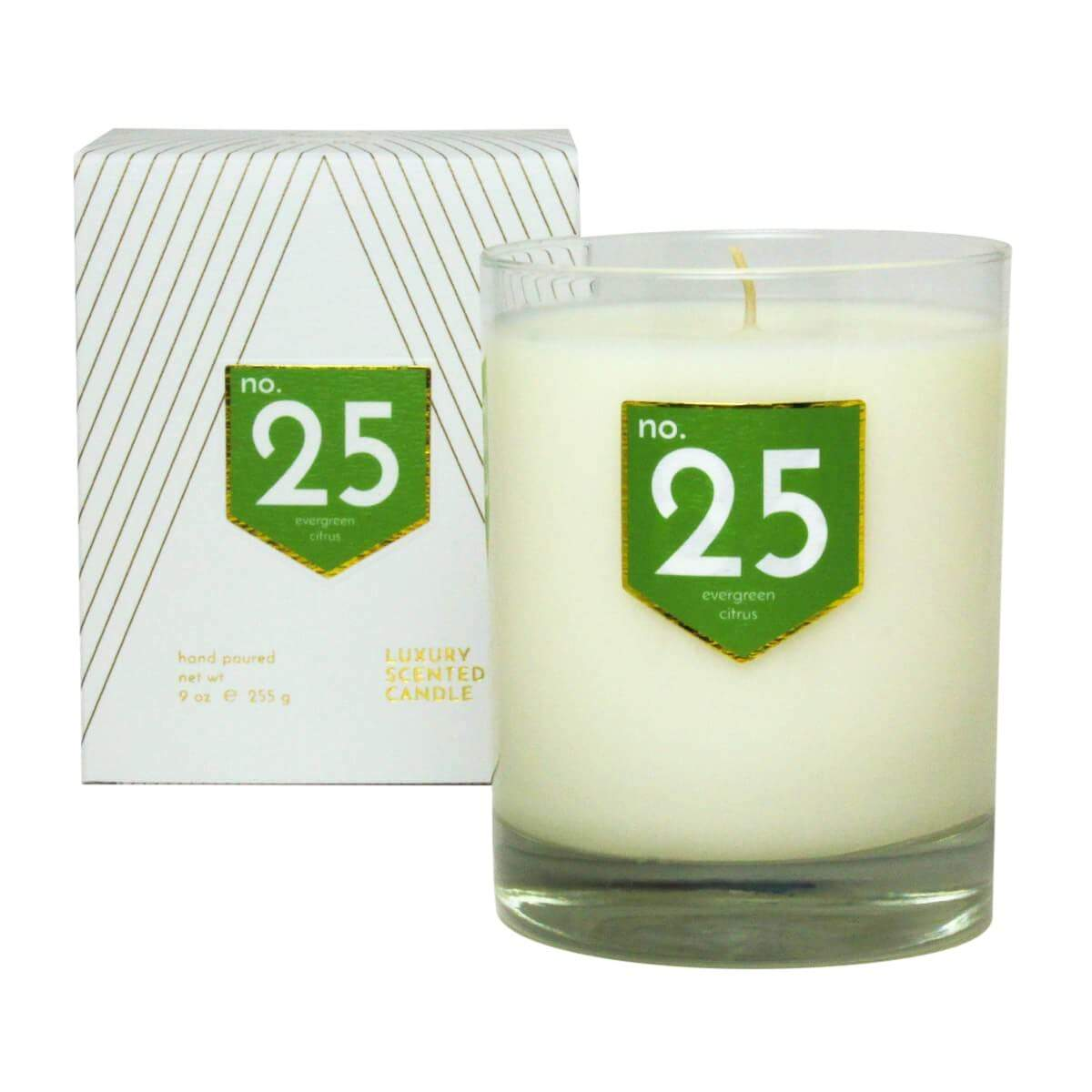 ACDC Candle Co Candles & Diffusers No. 25 Evergreen Citrus Scented Soy Candle