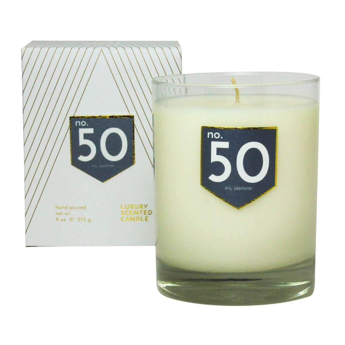 ACDC Candle Co Candles & Diffusers No. 50 Iris Jasmine Scented Soy Candle