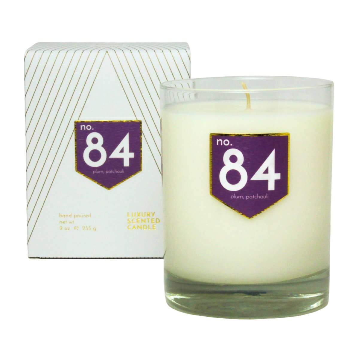 ACDC Candle Co Candles & Diffusers No. 84 Plum Patchouli Scented Soy Candle