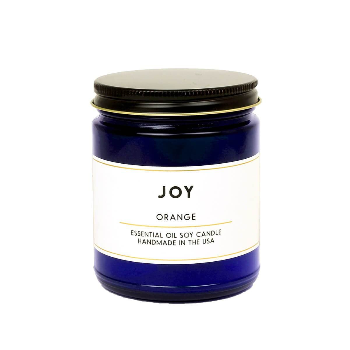 ACDC Candle Co Candles & Home Fragrance Cobalt Joy Orange Essential Oil Aromatherapy Candle