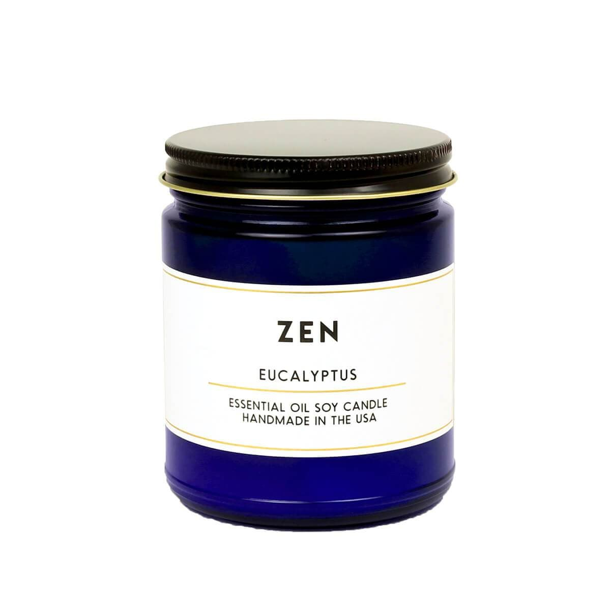 ACDC Candle Co Candles & Home Fragrance Zen Eucalyptus Essential Oil Aromatherapy Candle